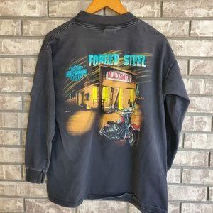 Harley Davidson motorcycle long sleeve men's shirt